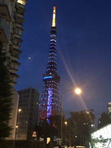 東京タワーもサムライブルー☆