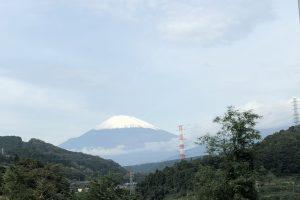 富士山🗻雪化粧^_^